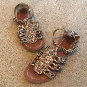 Coach Snake Skin Sandals
